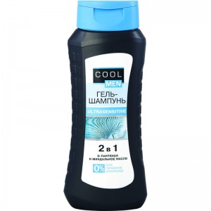 Cool Men - Żel-szampon Ultrasensitive 2w1 - 400ml