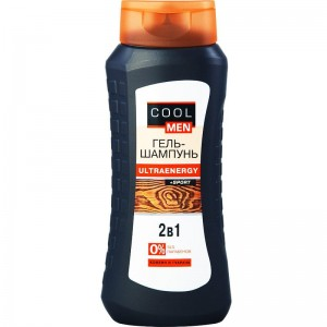 Cool Men - CM Żel-szampon Ultraenergy 2w1 -Sport - 400ml