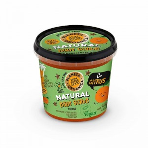 Planeta Organica - Scrub do ciała - C+ Citrus - 360ml