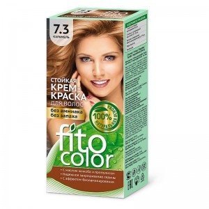 Farba-krem do włosów KARMEL 7.3 - fito color - 115ml
