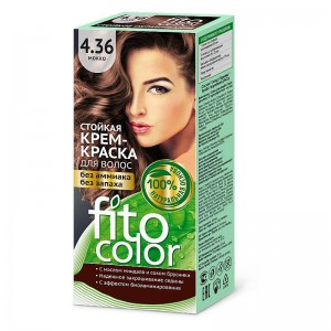 Farba-krem do włosów MOKKA 4.36 - fito color - 115ml